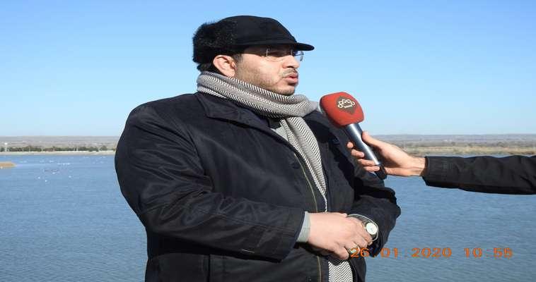 بازدید مدیرکل  حفاظت محیط زیست استان اردبیل از تالاب میل مغان و رودخانه مرزی ارس