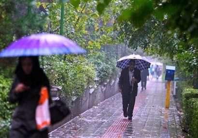 آب و هوا در ۱۱ بهمن / کدام شهرهای کشور باران میبارد؟