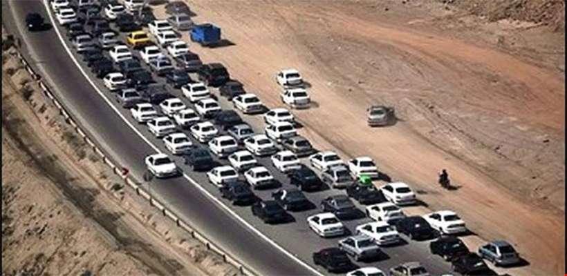 وضعیت ترافیکی محورهای مواصلاتی در ۱۱ بهمن / کرج_مرزن آباد یک طرفه است