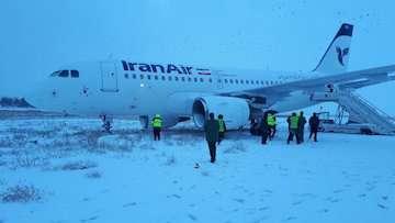 هواپیمای تهران- کرمانشاه از سطوح پروازی خارج شد