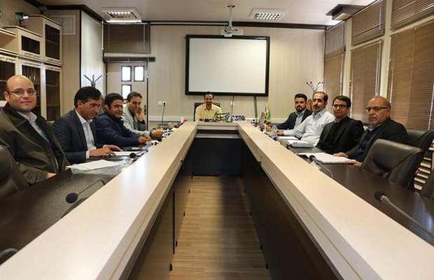 بیست و سومین جلسه کمیسیون تدوین ضوابط و نظام پیشنهادات با حضور رئیس سازمان