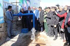 عملیات اجرایی فاز دوم طرح آبرسانی به روستاهای مجتمع کوهپایه ساوه آغاز شد