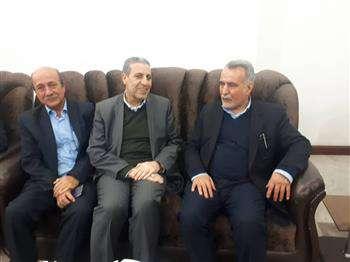 دیدار استاندار بوشهر با مهندس خرم رئیس سازمان نظام مهندسی ساختمان