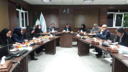جلسات مشترک معاون خدمات شهری با شهرداران مناطق ۱۳ گانه