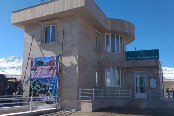 افتتاح پاسگاه محیط بانی تالاب بیشه دالان بروجرد