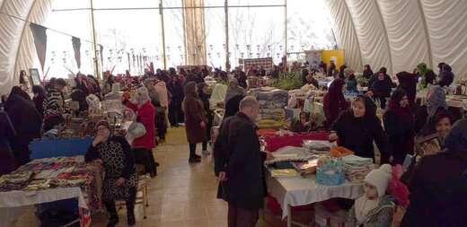 نمایشگاه صنایع دستی و توانمندی های بانوان شهرداری منطقه۴ به کار خود پایان داد
