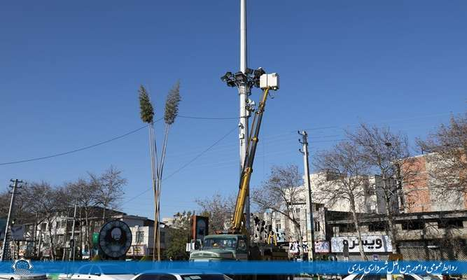 تهیه بانک اطلاعات فنی روشنایی های معابر / ساماندهی تاسیسات سطح شهر