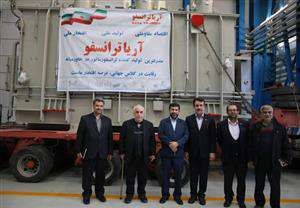 بازدید استاندار و مدیرعامل برق منطقه ای خوزستان از شرکت آریا ترانسفو سمنان