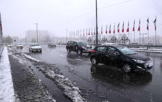 پیش بینی کولاک در استان البرز و جاده چالوس