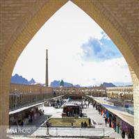 بازسازي مجدد بام سبز ميدان امام علي(ع)