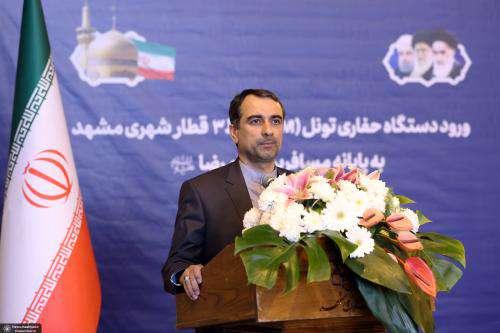 هزینه ۱۰۰۰ میلیارد تومانی برای احداث خطوط قطار شهری مشهد در سال۹۸/  ...