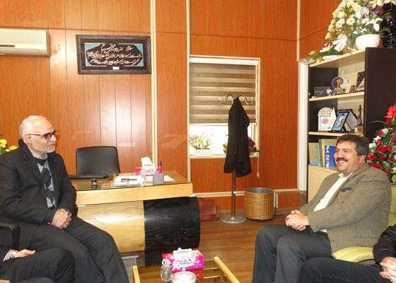 دیدار اعضای شورای اسلامی شهرسنندج با رئیس جدید دانشگاه آزاد اسلامی واحد سنندج