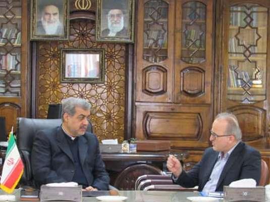 مدیر عامل آبفای گیلان در نشست با فرماندار شهرستان  لاهیجان: 31280میلیون ریال هزینه برای تکمیل ایستگاه پمپاژ نخجیری