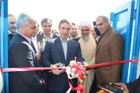 استاندار مرکزی طرح آبرسانی به شهر مامونیه را افتتاح کرد