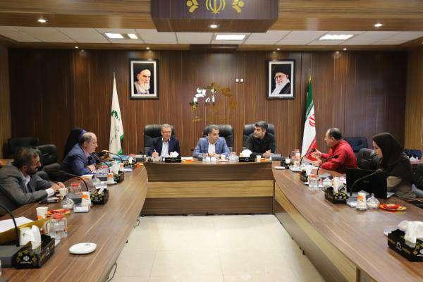 جلسه کمیسیون ترافیک و حمل و نقل شورای اسلامی شهر رشت