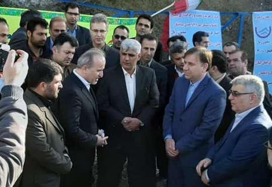 افتتاح 14500 میلیون ریال پروژه های آب  وفاضلاب شهرستان سیاهکل با حضور استاندار گیلان