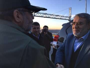 بازدید وزیر کشور از پروژه آزاد راه شهید همت