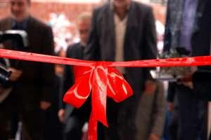 افتتاح پروژه محور روستايي شاپور آباد به محسن آباد شهرستان برخوار
