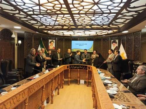 تجلیل کمیسیون عمران شورا از رئیس سازمان نظام مهندسی ساختمان گلستان