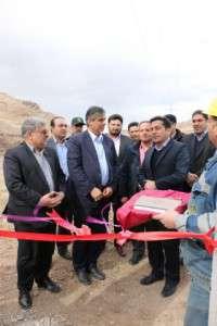 افتتاح پروژه آسفالت روستای جفتان تفرش توسط استاندار مرکزی