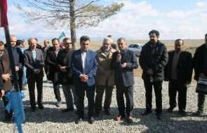 افتتاح خط انتقال و مخزن آب روستای مقیسه داورزن
