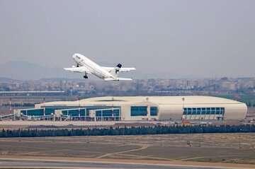 انجام پروازهای فرودگاه امام (ره) به صورت عادی