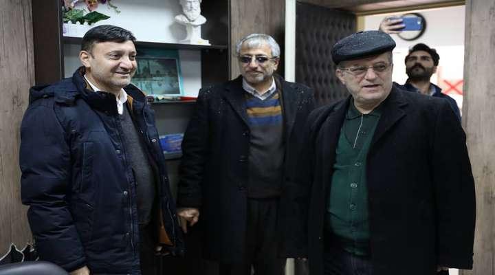 بازدید رئیس شورای اسلامی شهر رشت از بیمارستان های شهر و نظارت بر بازگشایی معابر منتهی به بیمارستان ها