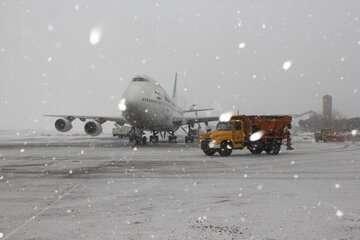 پروازهای فرودگاه مهرآباد درحال انجام است