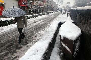 ادامه بارش برف در استانهای شمالی
