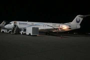 ۵ پرواز مقصد تهران در اصفهان فرود آمدند