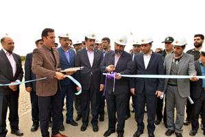 افتتاح و کلنگ زنی پروژه های برق منطقه ای خوزستان در دزفول
