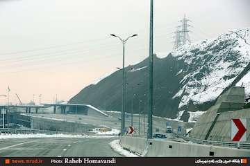 عبور از منطقه یک آزادراه تهران-شمال به صورت آزمایشی آغاز شد
