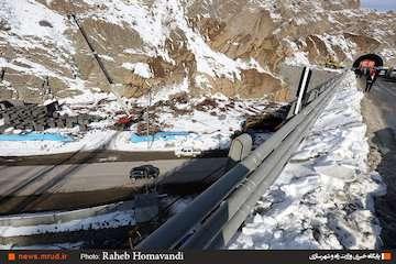 سرعت مجاز در منطقه یک آزادراه تهران-شمال ۸۰ کیلومتر بر ساعت
