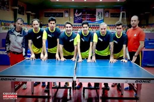 افتخار آفرینی همکار شهرداری منطقه۹ تبریز در مسابقات ورزشی