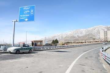 کاهش ۱.۵ ساعته مسیر تهران- شمال