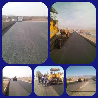 عملیات روكش آسفالت پل پارسیان و بلوار شهید تهامی به پایان رسید.