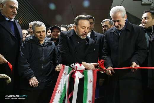مراسم بهرهبرداری از فاز نهایی خط ۱ قطار شهری تبریز