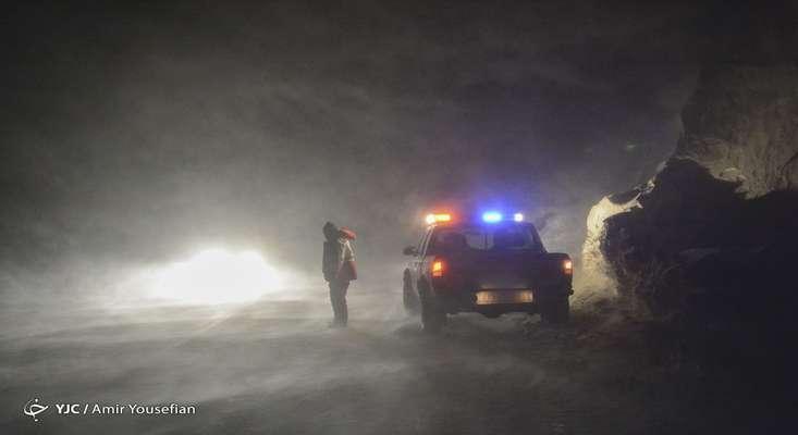 کولاک برف در ارتفاعات استانهای شمالی/ تهران سردتر میشود