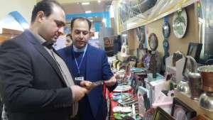 بازدید رئیس شورای اسلامی شهر تفرش از غرفه تفرش در نمایشگاه بین المللی