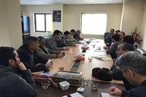 جلسه مدیر کل راه و شهرسازی خراسان شمالی با پیمانکاران برگزار شد