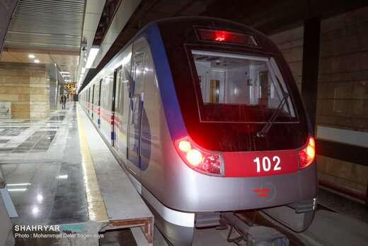 افتتاح کامل خط یک قطار شهری تبریز