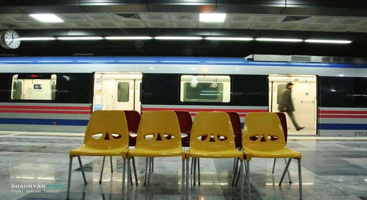 آغاز مسافرگیری از ایستگاههای جدید مترو