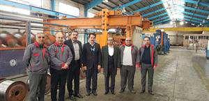 بازدید مدیرعامل شرکت برق منطقهای خوزستان از شرکت های آلومراد و آلومتک/ آغاز فرایند تولید 800 تن هادی