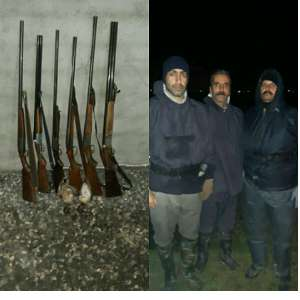 ۴۶ شکارچی غیرمجاز درمازندران دستگیر شدند