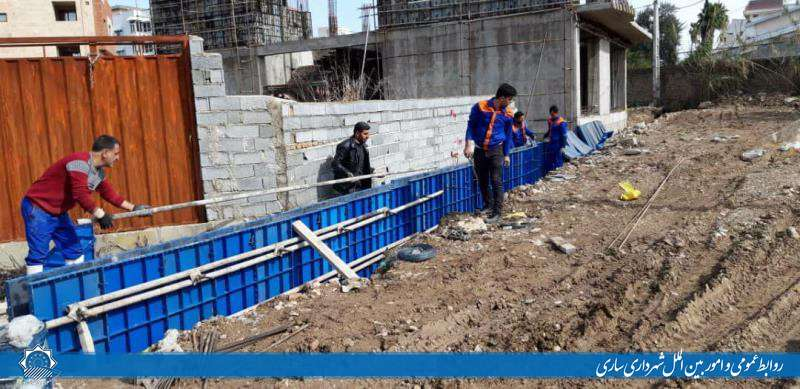 احداث کانال هدایت آب های سطحی در مناطق سه گانه