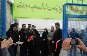 افتتاح پروژه آبرسانی مجتمع گاوترنا چناران