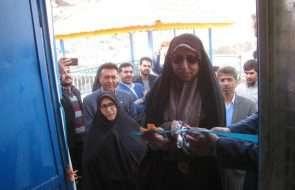بهره برداری از پروژه خط انتقال آب شرب روستای خشت کلات