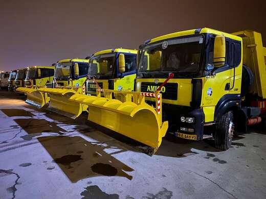 خرید تجهیزات جدید برف روبی برای استفاده در مواقع بحران