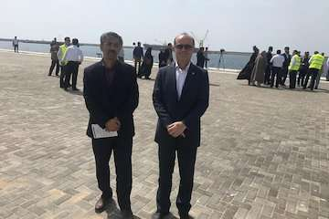 اداره کل بنادر و دریانوردی سیستان و بلوچستان تندیس واحد صنعتی و خدماتی سبز کشور را کسب کرد