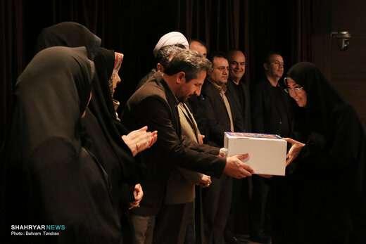 مراسم تجلیل از بانوان شهرداری تبریز